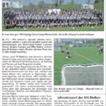 Zeitungsbericht von Andres Rothenbach (A. R.) / Regional Brugg vom 28.04.2016