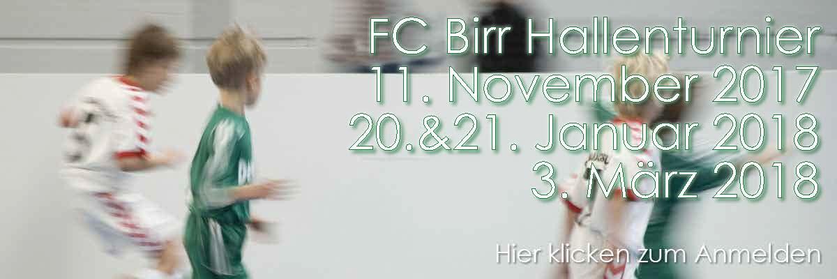 Junioren Hallenturniere FC Birr 2017/2018